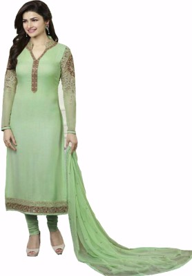 RAM RAGHAV TEXTILE Georgette Embroidered Salwar Suit Dupatta Material