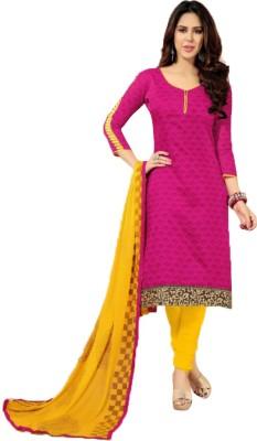 Desi By Design Chanderi Printed Dress/Top Material