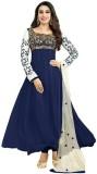 Madhuram Georgette Embroidered Salwar Su...