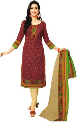 Javuli Cotton Printed Salwar Suit Dupatta Material