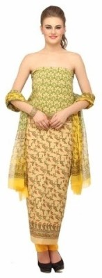 Chippa Studio Cotton, Chiffon Printed Salwar Suit Dupatta Material