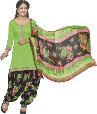 Jiya Cotton Self Design, Embellished Salwar Suit Dupatta Material
