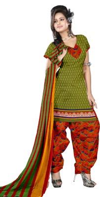 Price Bet Linen Printed Salwar Suit Dupatta Material