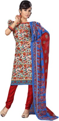 Disha Cotton Printed Salwar Suit Dupatta Material