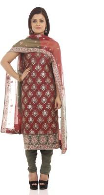 Chhabra 555 Chanderi Embroidered Salwar Suit Dupatta Material