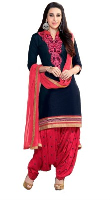 abagill Cotton Embroidered Salwar Suit Dupatta Material