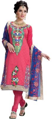 Hypnotex Jacquard Self Design Salwar Suit Dupatta Material