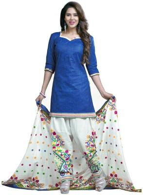Maahika Cotton Printed Dress/Top Material