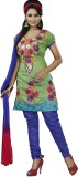 Maahika Chanderi Embroidered Dress/Top M...