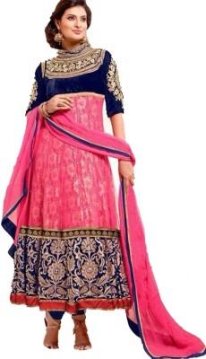 Vaishali Fashion Georgette Embroidered Salwar Suit Dupatta Material