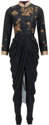 Nandani Fashion Georgette Embroidered Kurti Fabric
