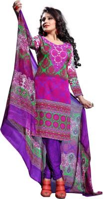 Nazaquat Crepe Printed Dress/Top Material