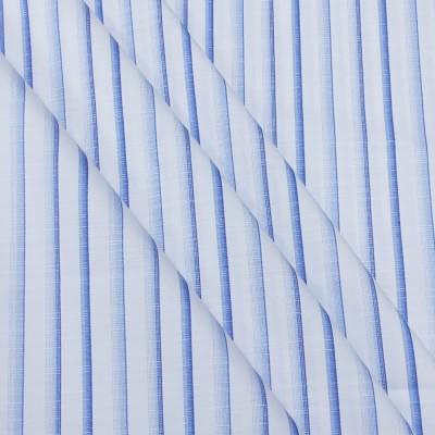 Fashion Foreplus Cotton Polyester Blend Striped Shirt Fabric