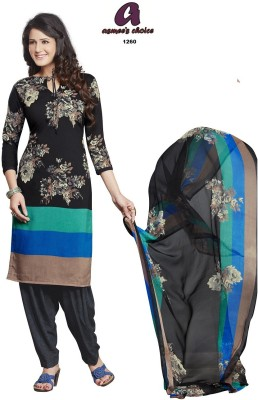 Asmee's Choice Synthetic Printed Salwar Suit Material