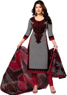 Zeekty Cotton Printed Salwar Suit Dupatta Material