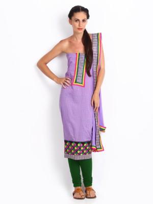 Anouk Synthetic Self Design Salwar Suit Dupatta Material