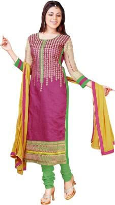 Ganga Fashion Cotton Embroidered Salwar Suit Dupatta Material