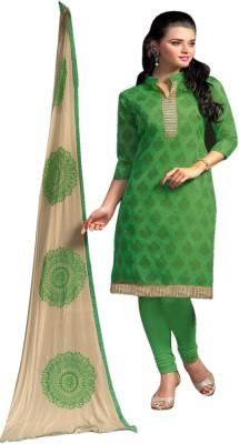 Miss Charming Chanderi Printed Salwar Suit Dupatta Material