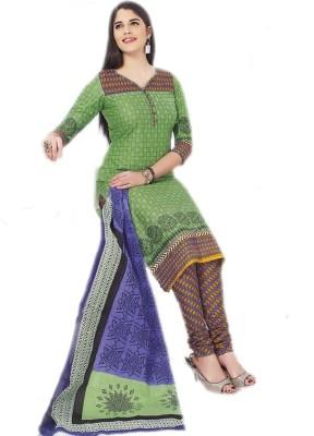 ShivaniCollections Cotton Printed Salwar Suit Dupatta Material