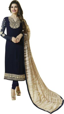 Eleven Creation Georgette Embroidered Salwar Suit Dupatta Material