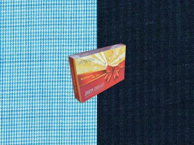 Jhon Diego Viscose, Cotton Self Design Shirt & Trouser Fabric