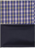 Sahyog Cotton Polyester Blend Solid, Che...
