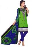 Vishnu International Crepe Printed Salwa...