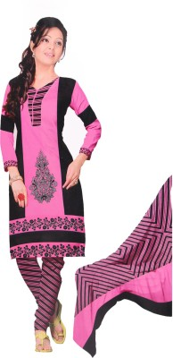 Giftsnfriends Crepe Printed Dress/Top Material, Salwar Suit Dupatta Material, Salwar Suit Material(Un-stitched)