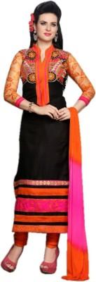 Hexo Cotton Self Design Semi-stitched Salwar Suit Dupatta Material