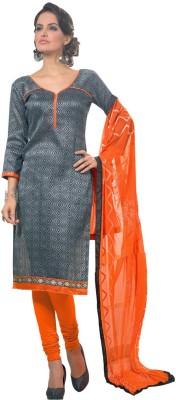 Viva N Diva Silk Embroidered Salwar Suit Dupatta Material