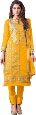 Nazaquat Chanderi Embroidered Salwar Suit Dupatta Material