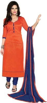 Vastrani Silk Solid Salwar Suit Dupatta Material