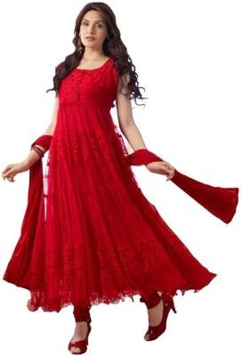 Shreet Fashion Brasso Self Design Salwar Suit Dupatta Material