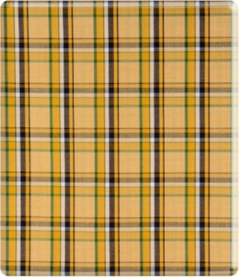 fans Cotton Checkered Shirt Fabric