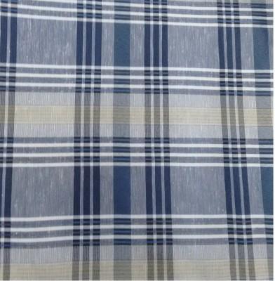 Rajat Cotton Polyester Blend Checkered Shirt Fabric