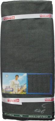 Mayur Suitings Polyester, Viscose Self Design Safari Fabric