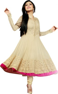 Uttam Vastra Georgette Embroidered Salwar Suit Material
