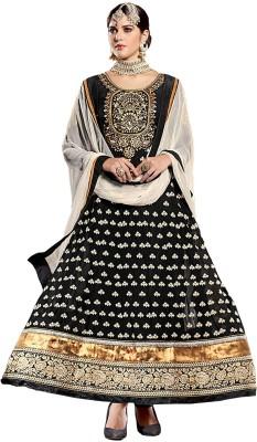 Salwar Studio Georgette Embroidered Dress/Top Material