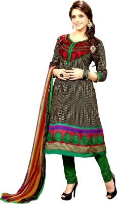Czar Life Styles Cotton Polyester Blend Self Design Salwar Suit Dupatta Material