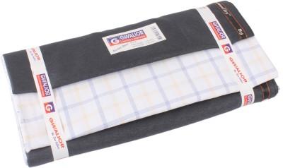 Darcey Cotton Checkered Shirt & Trouser Fabric