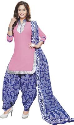 TG Shoppers Cotton Printed Salwar Suit Dupatta Material