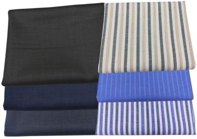 Fashion Foreplus Viscose Striped Shirt & Trouser Fabric