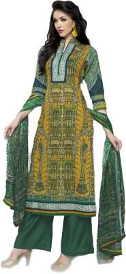 Shubh-Style Cotton Printed Salwar Suit Dupatta Material