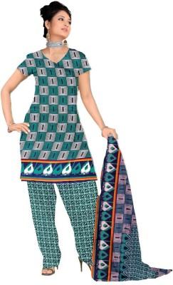 Krizel Trendz Georgette Printed Salwar Suit Dupatta Material
