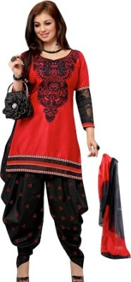 Jhumri Cotton Embroidered Salwar Suit Dupatta Material