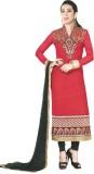Ombresplash Georgette Embroidered Salwar...