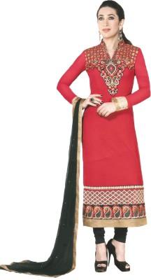 Ombresplash Georgette Embroidered Salwar Suit Dupatta Material