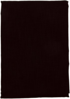 Men In Black Cotton Polyester Blend Solid Shirt Fabric