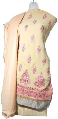 Lattice Georgette Embroidered Salwar Suit Dupatta Material