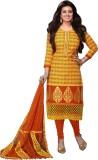 Mankarsh Cotton Printed Salwar Suit Dupa...